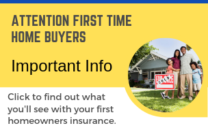 important info for first time home buyers banner